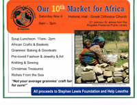 Kingston Grandmother Connection Market for Africa