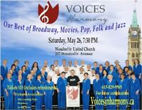 Voices in Harmony Spring Concert
