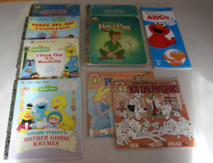 9 Books Including Disney and Sesame Street Books