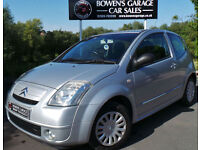 2004 CITROEN C2 1.1 SX 3DR - LOW MILES - 11 SERVICES - A/C - LOCAL CAR