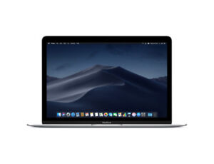 macbook 12 pouces space gray neuf scelle