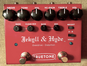 Dual Overdrive Jekyll and Hyde pedal