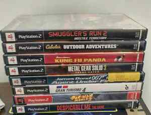 PS2 Games $10