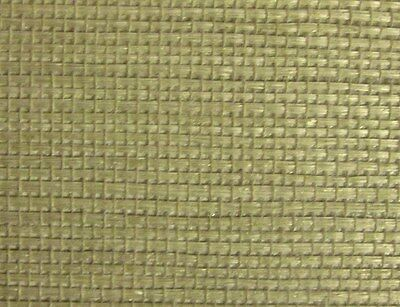 Wallpaper Real Natural Grass cloth Double Roll Tan/Beige VINTAGE Fine Textured
