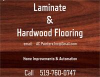 Laminate Flooring Installation & Repairs
