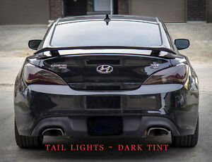 Headlight & Fog Light Overlay Tint Vinyl Roof Wrap Car Decals