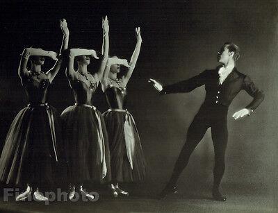 1951 NEW YORK CITY BALLET Dance LA VALSE Large 10x13 Photo ~ GEORGE PLATT LYNES