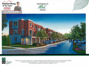 FREEHOLD TOWNHOMES MARKHAM RESIDENCES OF 16TH AVENUE $809,900