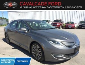 2014 Lincoln MKZ AWD ADAPTIVE CRUZ CTRL, NAV, ROOF, HTD STEERING