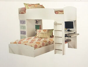 Ashley furniture bunk bed set with dresser