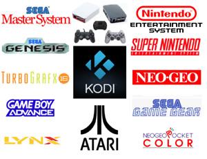Retro Gaming + Kodi Console 8,000+ Games