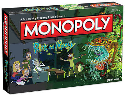 USAopoly MONOPOLY®: Rick And Morty Board Game