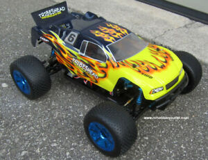 New RC Truggy / Truck Brushless Electric 1/10 PRO LIPO 2.4G Warr
