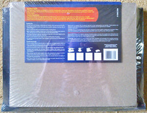 "NEW 'Mastercraft' 9"" X 11"" Assorted Sandpaper – 50 pcs w/ Folder Kingston Kingston Area image 2"