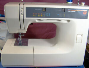 KENMORE PORTABLE 12 MULTI STITCH SEWING MACHINE
