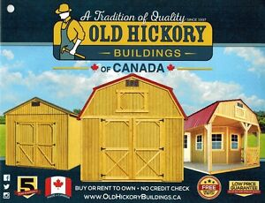 Old Hickory Buildings - Lofted Barns, Barns & Utility Sheds London Ontario image 8