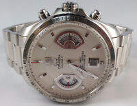 Tag Heuer Grand Carrera Calibre 17 RS Pearl Face w/ Stainless