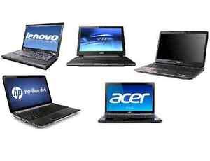 Refurbished laptops.  All kinds.