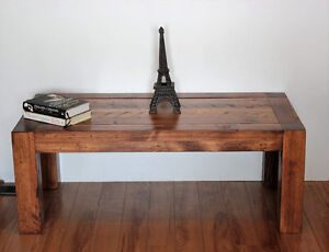 New reclaimed barn wood coffee table