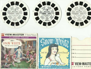 VIEWMASTER SNOW WHITE and the & DWARFS21 stereo picturesSnow W