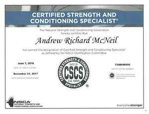 Andrew McNeil Fitness and Nutrition Coaching - Free Consultation North Shore Greater Vancouver Area image 3