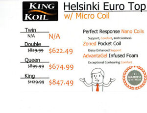 WMO Mattress of the Month! King Koil Helsinki is 25% OFF!