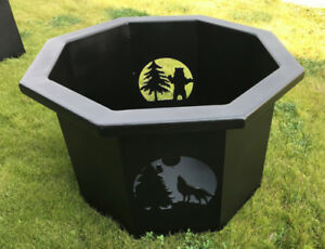 Laser Cut Steel Firepits: Now in Stock!