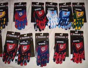 AUTHENTIC CFL FOOTBALL GLOVES - MONTREAL ALOUETTES + MORE West Island Greater Montréal image 2