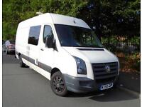 VW CRAFTER LWB Motocross Racevan/Campervan For Sale