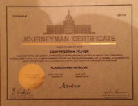 Certified Journeyman Flooring Installer