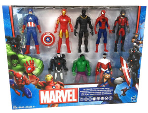 Marvel 8 Characters Ultimate Protector Pack