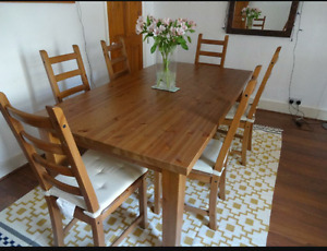 Solid Pine Dining Set