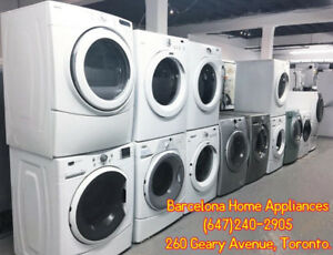 FRONT LOAD WASHER & DRYER WITH 1 YEAR WARRANTY FROM $299