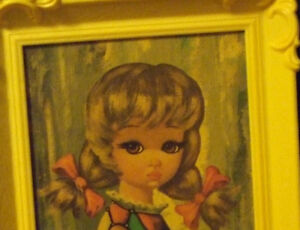 Vintage - 'EDEN MOPPET' pictures in frames Strathcona County Edmonton Area image 4