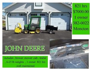 22h john deer with accessories,, or best offer