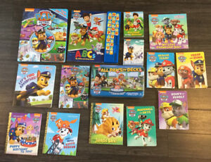 Paw Patrol Books and Puzzles