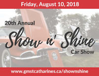 GM St. Catharines Show n' Shine Car Show & Open House