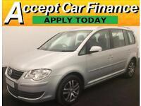 Volkswagen Touran 2.0TDI ( 140PS )FROM £31 PER WEEK.