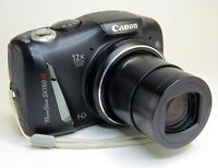 Canon Digital Camera 14MP, HD Video - Like New!
