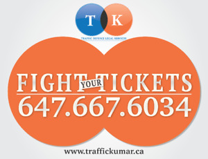 Did you get a traffic ticket?