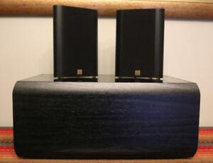 2 JAMO SAT 300 Speakers + JAMO SW 300 Passive Subwoofer