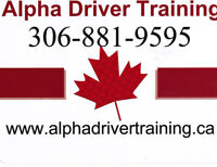 Driving lesson - 6 hours in class on  May 5  call 306-881-9595