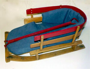 Child's Pull Sled - Ready for Winter