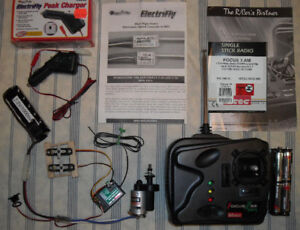 R/C Aircraft Control / Power Package