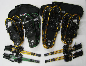 New BIGFOOT SNOWSHOE FAMILY PACKS- A, B and C