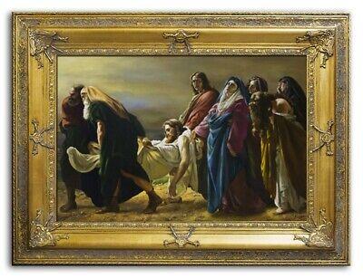 tus Handarbeit Ölbild Bild Ölbilder Rahmen Bilder G94796 (Religiöses Kunsthandwerk)