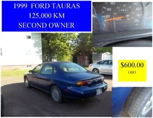 1999 F0RD TAURUS . 126,000 KM  2ND OWNER