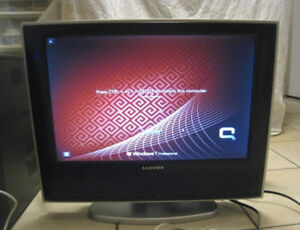 "Lloyd's 19"" LCD TV/Computer Monitor in great working condition"