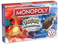 Monopoly: Pokémon Kanto Edition Board Game