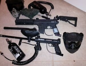 Paintball markers and accessories
